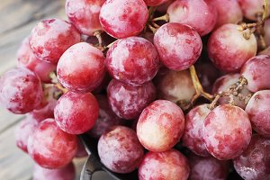 Red sweet grape