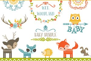 Wee Woodland Baby Bundle