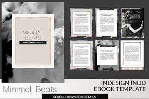 Minimal Beats INDD Template