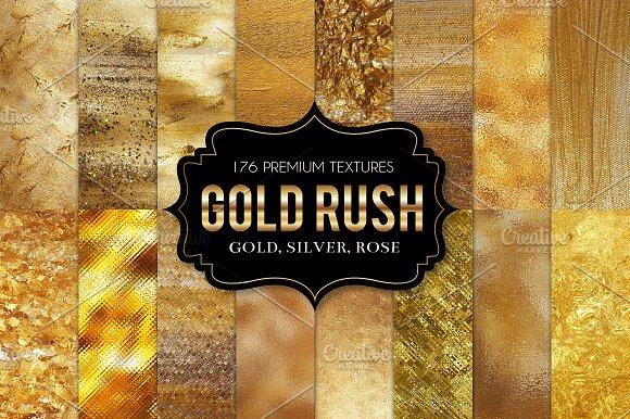 Gold Foil Textures, Gold Backgrounds