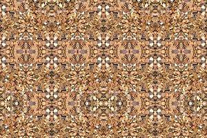 Stone Motif Geometric Seamless Pattern Mosaic