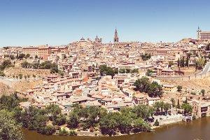 Panoramic view inToledo
