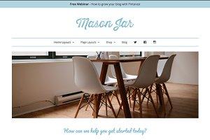 Wordpress Theme - Mason Jar