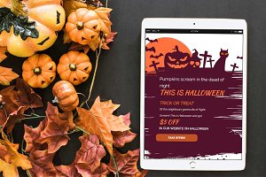 This is Halloween Email Template