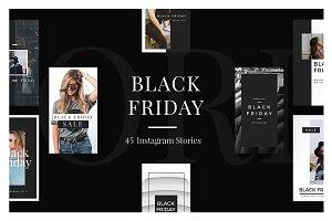 45 Black Friday Instagram Stories