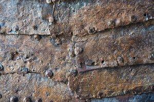 old rusty door texture