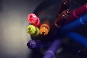 Color sketch pens