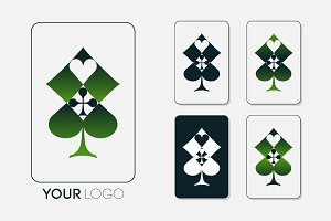 Casino logo design.