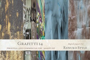 Grafitti 14 Photoshop Textures