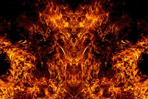 Demon from the fire