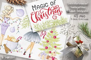 Magic of Christmas Hand-painted Kit