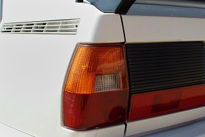 Rear tail light. 80's Sport car