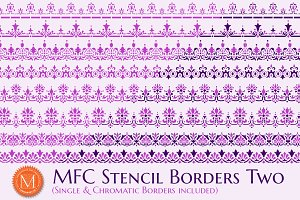MFC Stencil Borders Two