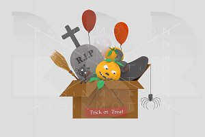 Halloween Box Kit