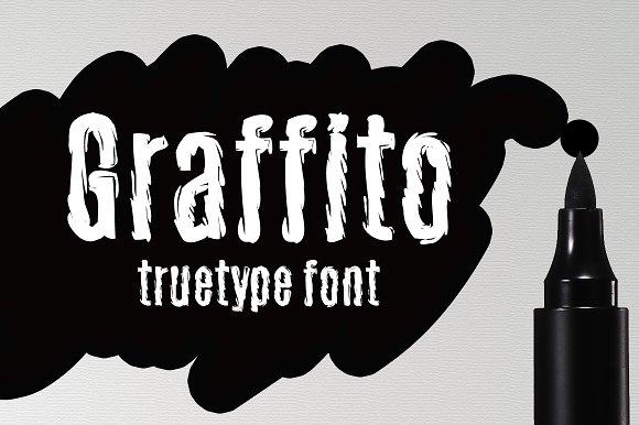 Graffito TrueType Font