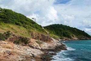 Coast of Koh Samet.