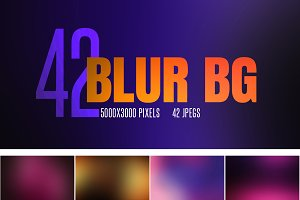 42 Blur Backgrounds
