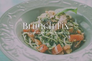 BRUNCH FIX - Lightroom Presets