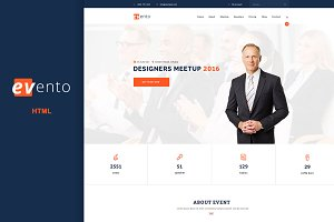 Evento event & conference template
