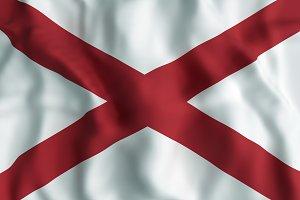 Alabama State flag.