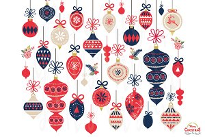 Christmas Ornaments Elements