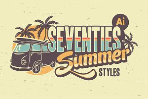 Seventies Summer Styles