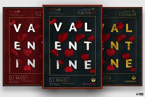 Valentines Day Flyer Template V10