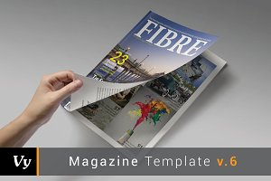 Fibre Magazine Template
