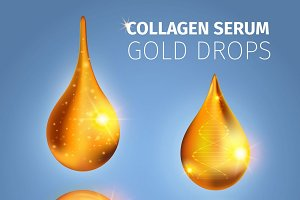 Collagen Serum Golden Drops