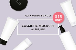 Cosmetic MockUps BUNDLE