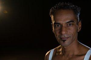 Portrait of ballerino