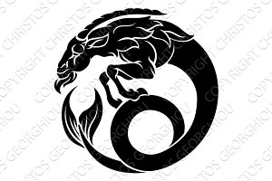 Zodiac Signs Capricorn Icon