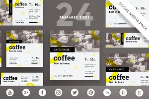 Social Media Pack | Coffee Shop