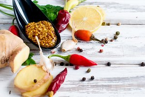 Aromatic spices for cooking