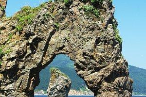 Cape Velikan giant, Sakhalin island, Russia