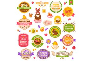 Easter Labels