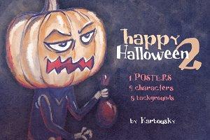 Happy Halloween set 2 (+poster)