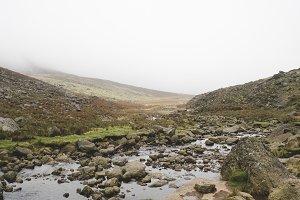 Misty Landscape in Ireland