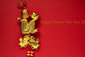 top view photo of Chinese Tradition decoration