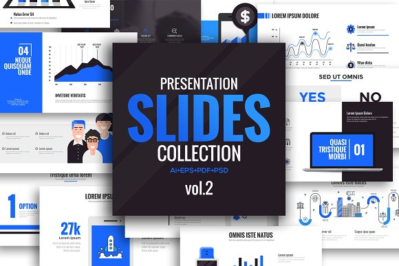 Presentation slide template-Graphicriver中文最全的素材分享平台