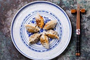 Fried Dumplings Cham