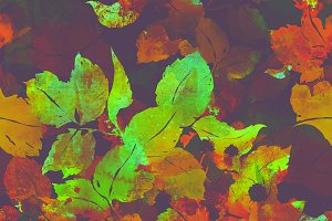 ink leaves seamless | JPEG