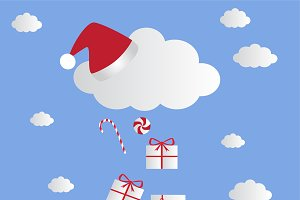 Cloud icon's New Year presents