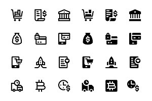 52 E-commerce Icons, vol.2