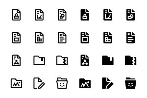 46 Files and Folders Icons