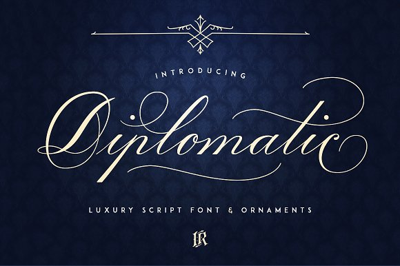 Diplomatic Font Intro Sale 40% Off