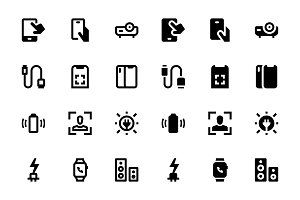 106 Devices Icons