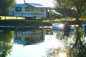 Campsite, Italy