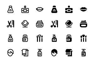 58 Cosmetics Icons