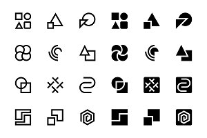 24 Abstract Icons